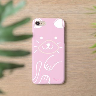 iphone case soft pink cute cat for iphone5s,6s,6s plus, 7,7+, 8, 8+,iphone x
