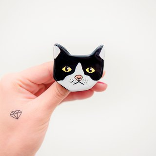 Pet hair baby cat series / cat cat Neko pin / brooch