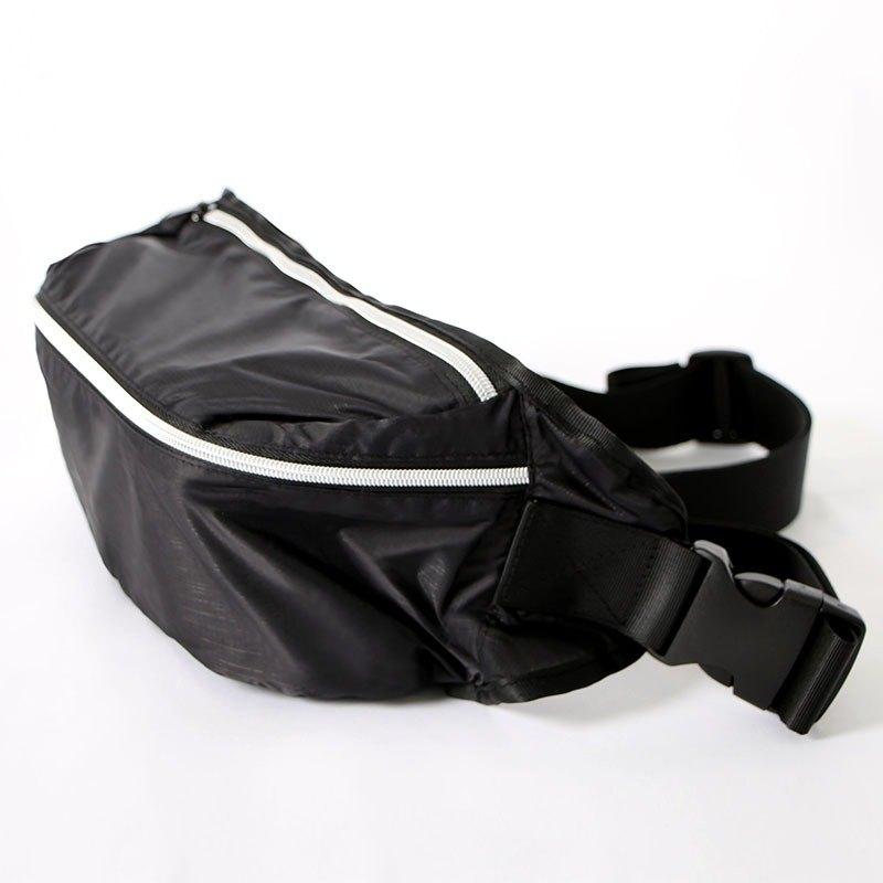 斜背/腰包兩用包.黑