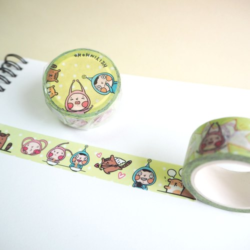 Daily HoHo Washi Masking Tape