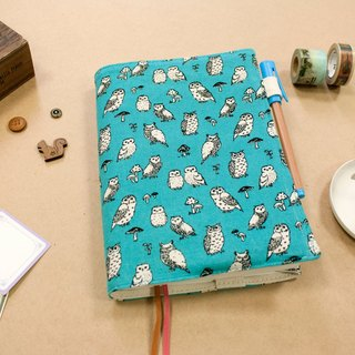B6 / 32K hand-adjustable cotton cloth clothing - owl of the forest