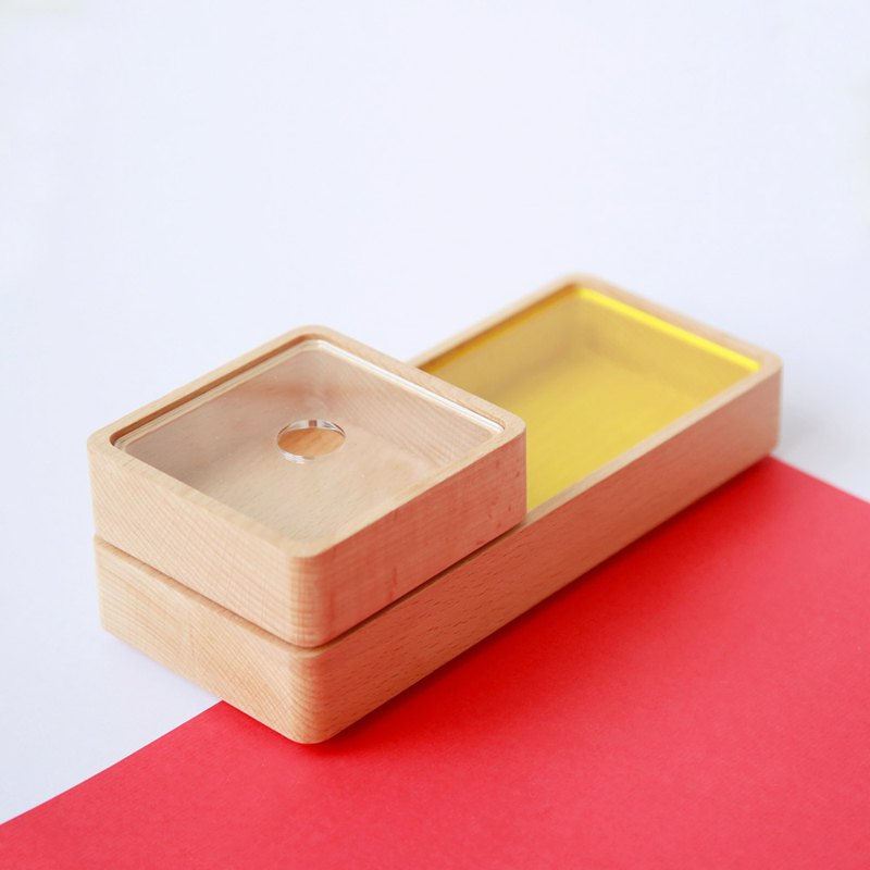 [Valentine's Day Gift] Wooden Storage Box - Summer Limited (Small)-[VUCA-Design]