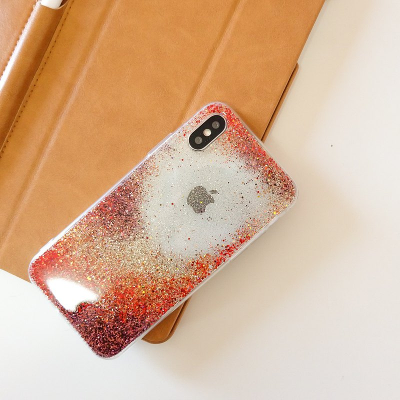 ruby | case, phone case, glitter case, iphone case, samsung case