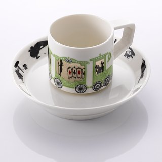 Rotating Coffee Cup_Alice in Wonderland