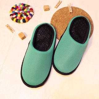 AC RABBIT function indoor air cushion slippers - all-inclusive - light green comfortable decompression original / sp-1208T-Mgn
