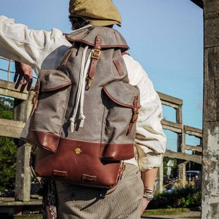 HEYOU Handmade - Retro Army Backpack backpack