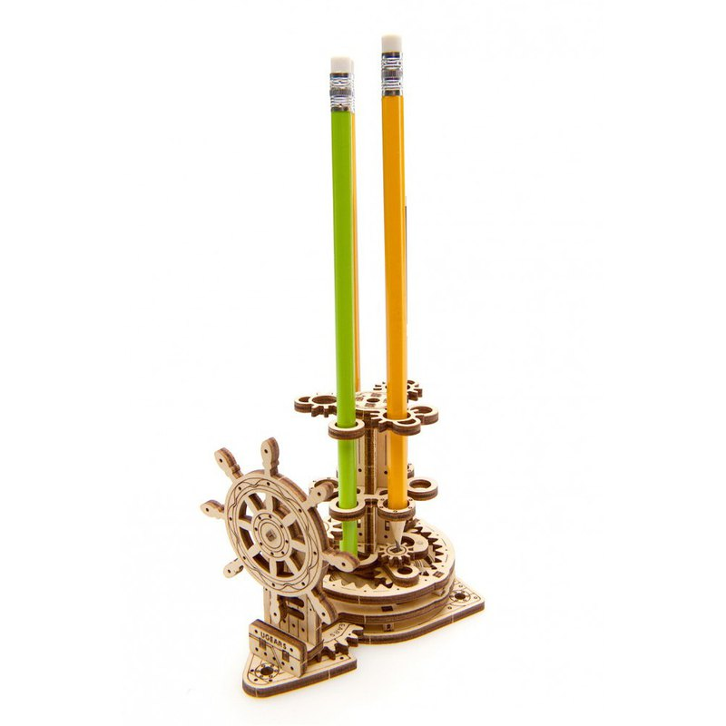 /Ugears/ Ukrainian wooden model pen carnival Wheel-Organizer