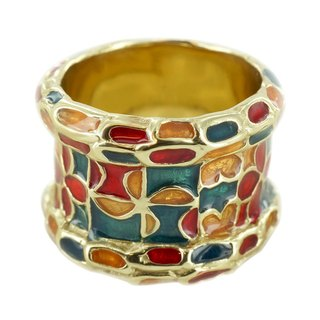 Cloisonne Ring