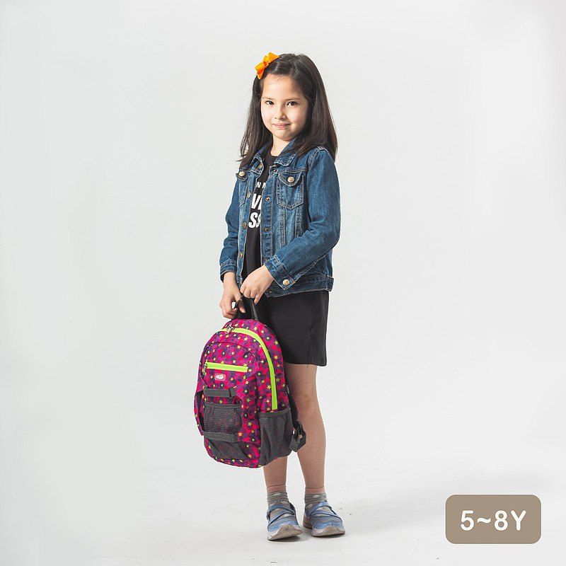 HUGGER Children's Hiking Backpack Camo Candy