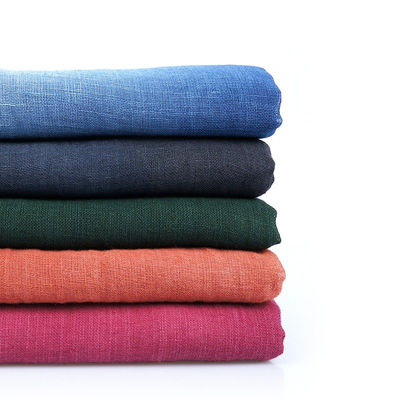 Takuya blue dye - vegetable dyes cotton scarves