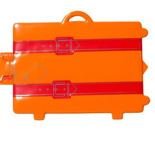 Rollog My suitcase tag(Orange)