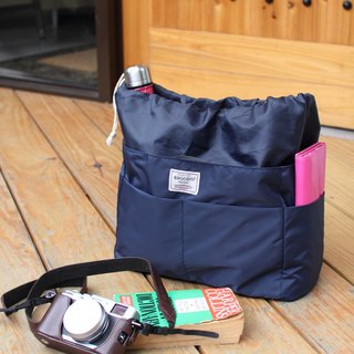 Big size-Backpack OK-INSIDE Bag Organizer-Dark blue_100421-30
