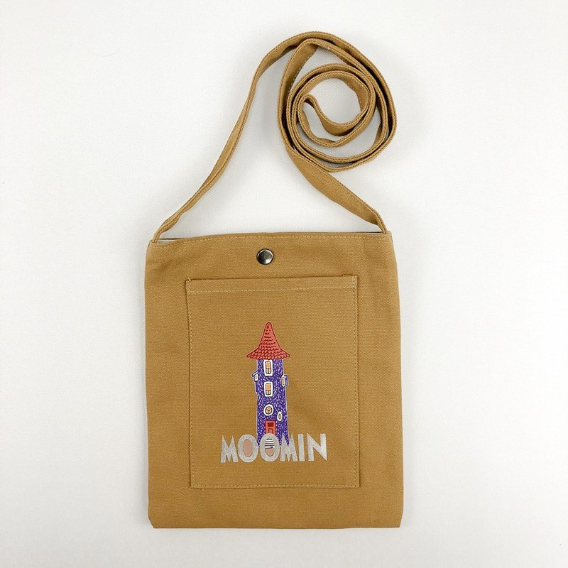 Moomin 噜噜米 authorized - color mobile phone bag (khaki), CB13AE02