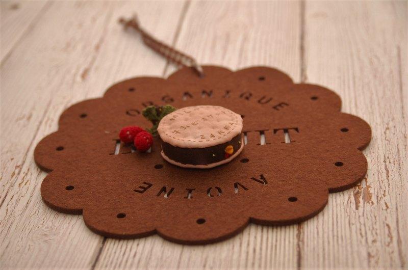【夾扁你!!】歐嚕嚕烏骨雞黑糖夾心草莓餅乾造型捲尺
