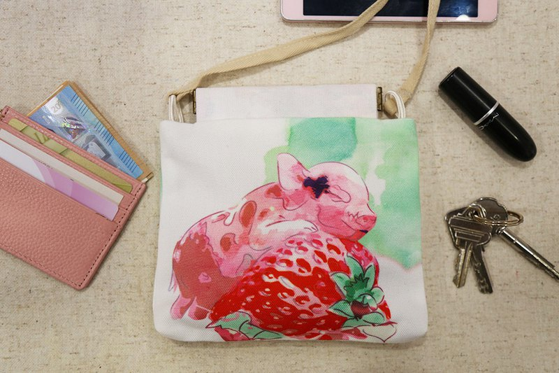 MRS STRAWBERRY PIGGY Crossbody Bag