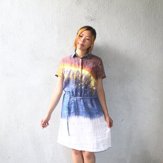 Giants Tie Dye  / Handmade Tie Dye one piece