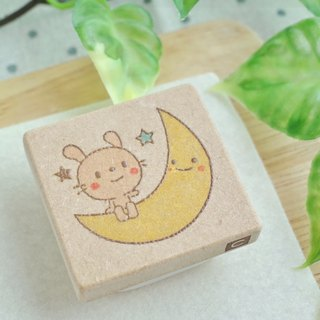 Rabbit's and Moon Hanko
