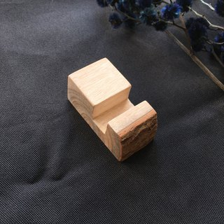 Name Card  Mobile Stand-Taiwan Camphor Wood [S/S] B