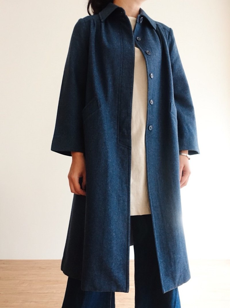 Vintage Coat / Wool No.11