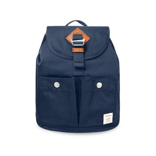 Donut water-resistant soda cracker mini backpack - dark blue ocean