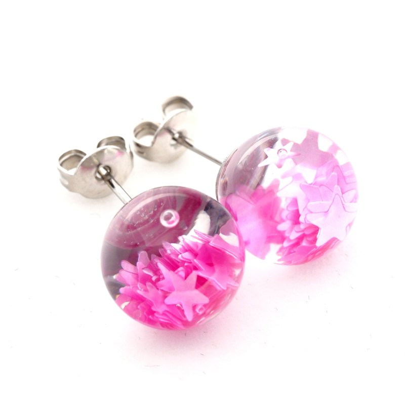 OMYWAY Handmade Water  Earrings - Glass Globe Earring