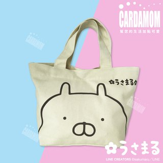 [USAMARU rabbit pill] Simple basic canvas bag · Genuine Authorized Card International