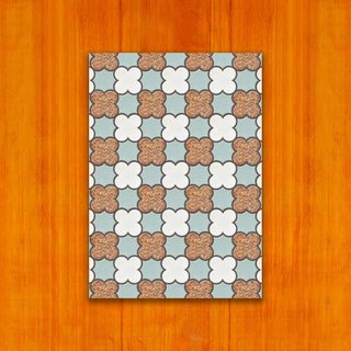 Old House - Classic Mosaic Tile Postcard – 15