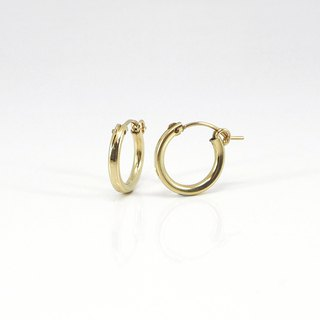 NO.60 CLASSIC STYLE EARRINGS 經典基本款耳飾 - 14K GF