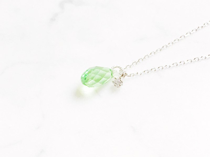 ::漾:: Green-clear muscle micro-light cutting clavicle chain (2.0)