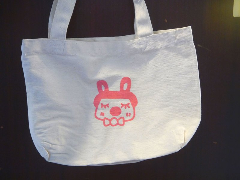 | Made in Taiwan ● manual serigraphy | pink bag