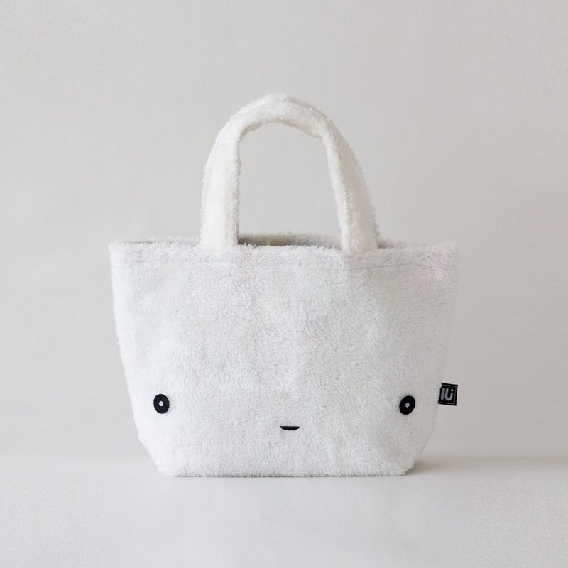 Lu face mini  bag  White