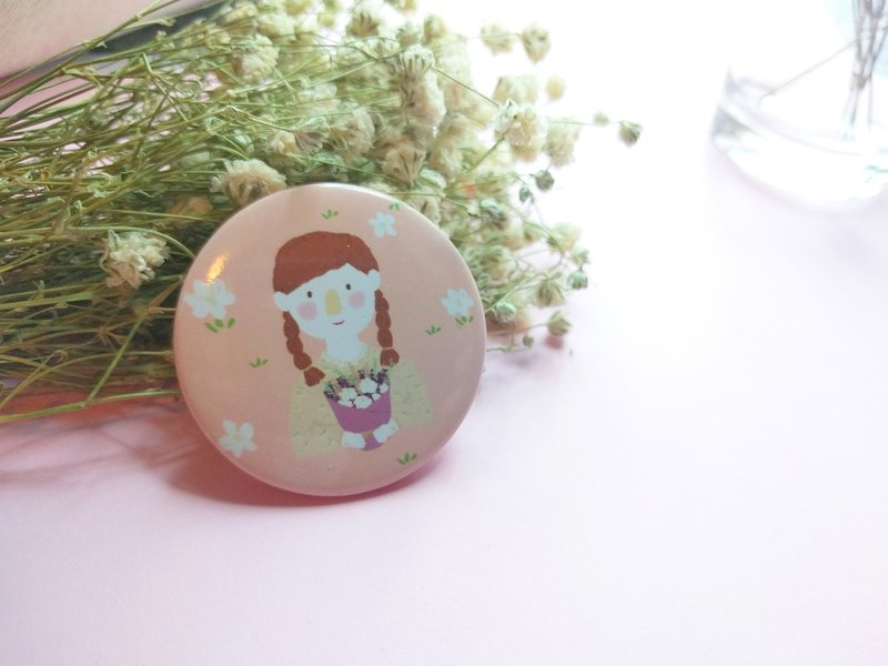 Bouquet Girl Badge
