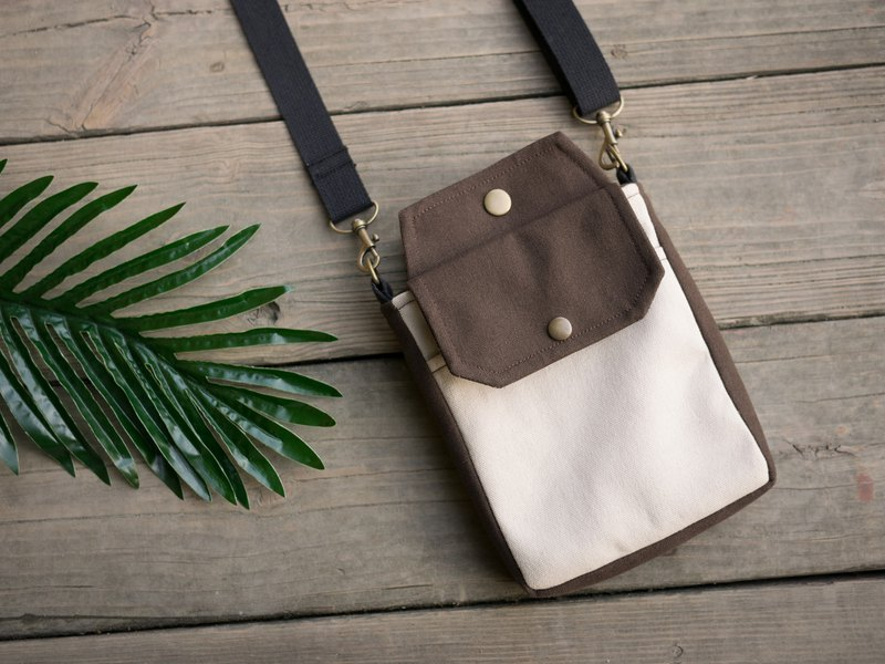 Easy To Carry Cross-body bag - Brown