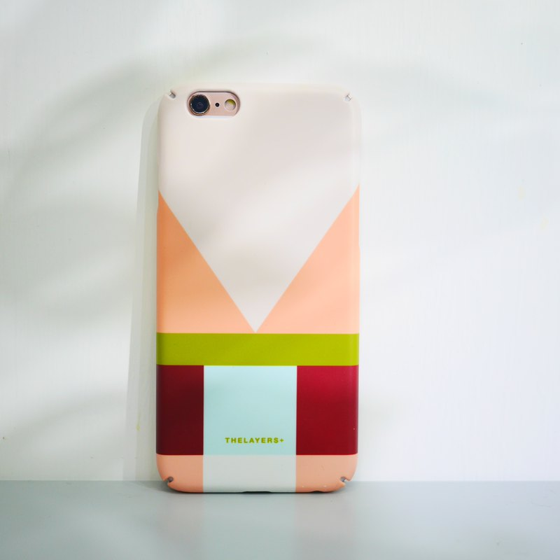 GRAPHIC PRINT - CHERRY MATTE Phone Case