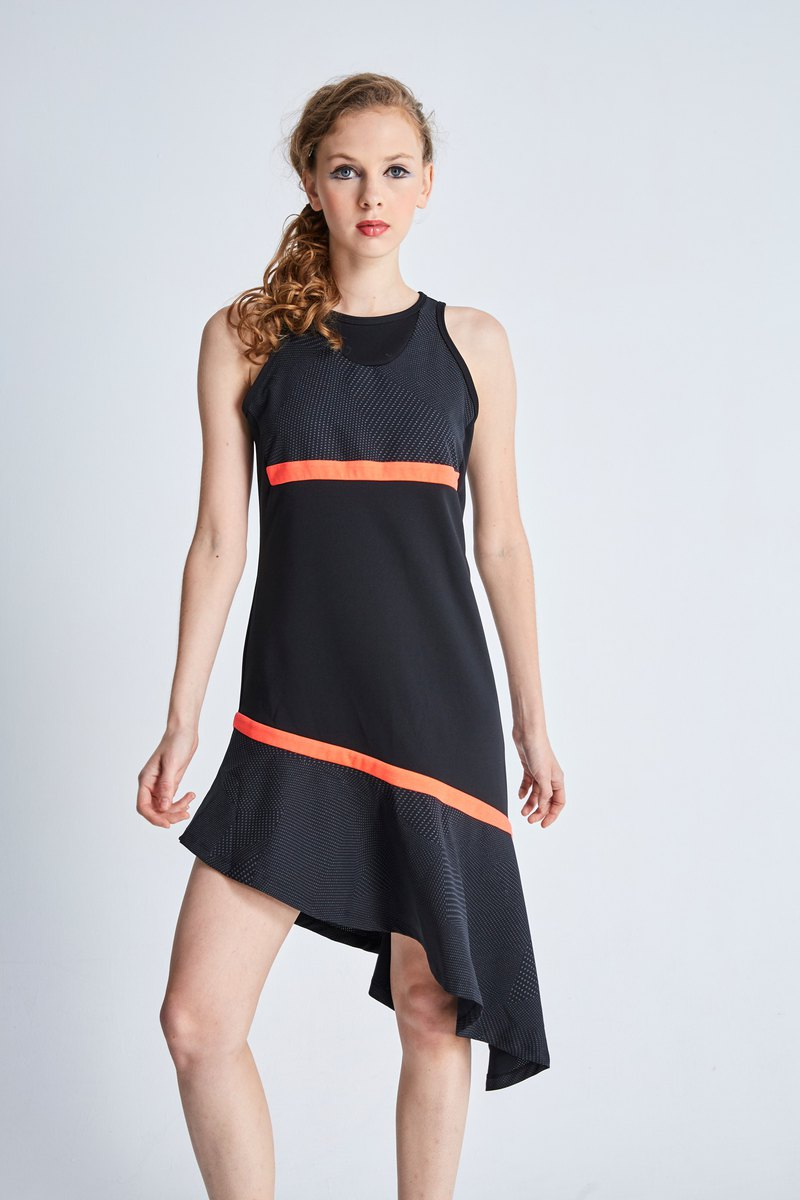 Splicing dress (19S1DS01BK)