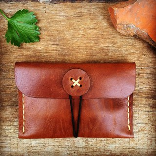 Coin/card Purse (color brown)