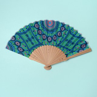 JAPANESE FAN x AFRICAN FABRIC