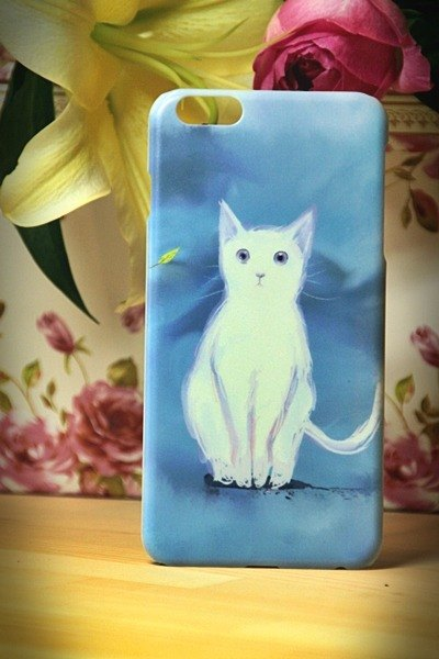 Watercolor cat s009 Take Me Home Videos David cat iPhone (i5.i6s, i6splus.I7.I7plus) / Android Samsung Samsung, HTC, Sony designer handsets shell / protective cover / kitty cat phone shell