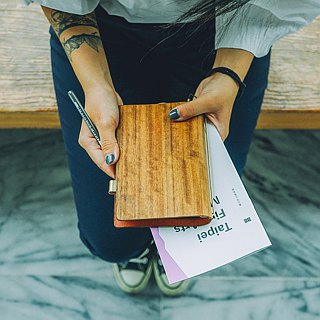 【TREETHER】TEAK Notebook
