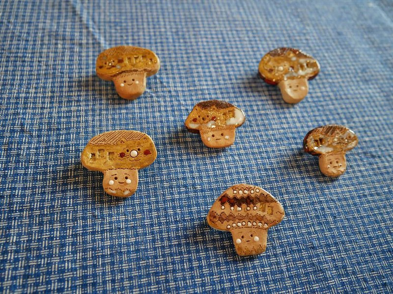 Mushroom small ceramic needles