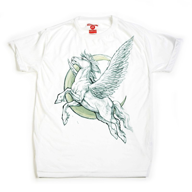 Pegasus The fly horse unisex men woman cotton mix Chapter One T-shirt
