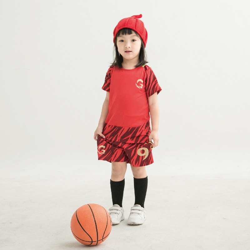 é Grato Football uniform (Devil Red) Quick-Dry sportswear