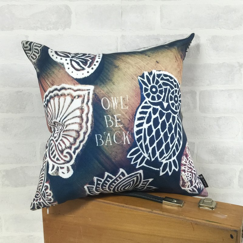 Owl miss you, too.呜~ Forget me - Pillow Throw Pillows