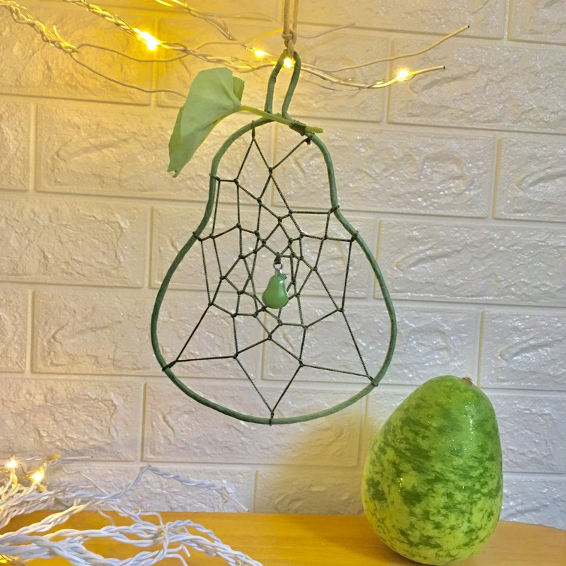 Flat Pacifier Dreamcatcher Bottle Gourd Avocado Dream Catcher