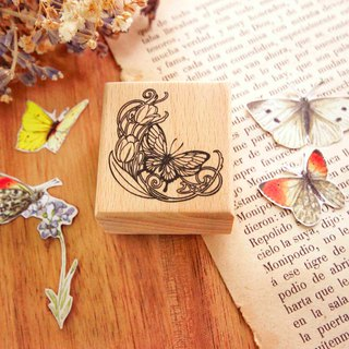 Moravia Butterfly Beech Wood Stamp