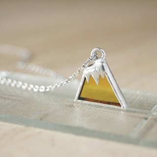 Beer mountain necklace