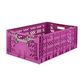 Turkey Aykasa Folding Storage Basket (L) - Violet