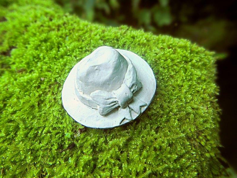 未來回憶紀錄之二 帽子的緞帶│水泥擺飾・植栽小物・居家擴香