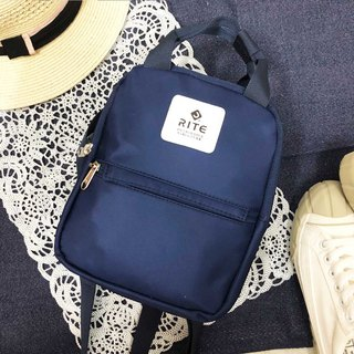 [RITE] Le Tour Series - Dual-use Mini Backpack - Rainbow [靛]