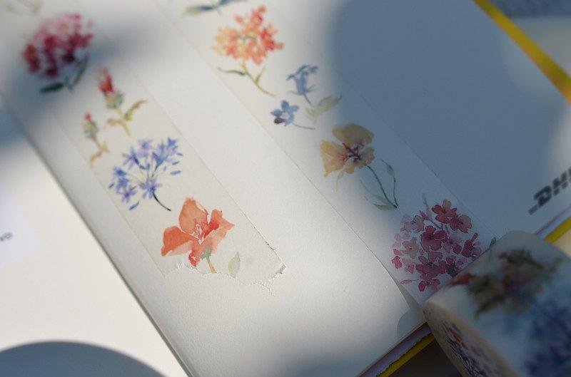 Floral 草花紙膠帶